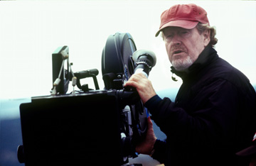 Ridley Scott on set